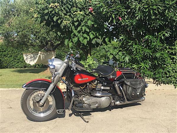 Harley Davidson Electra Glide FLH Shovelhead