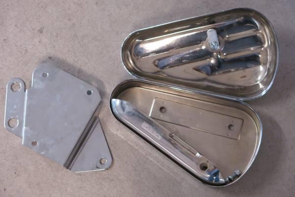 Toolbox porta oggetti Harley Softail
