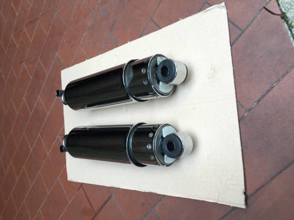 """- Ammortizzatori FL style full chrome 11"""" per..."""