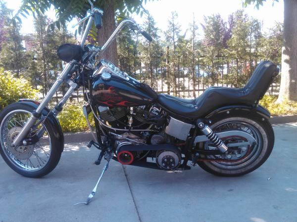Harley Davidson wide glide 1973