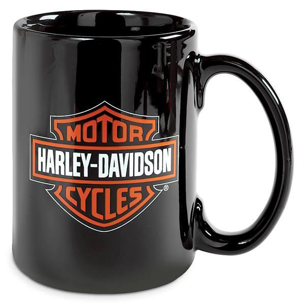Tazza mug harley davidson nera idea regalo