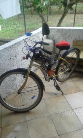Bicicletta Custom Motore A Scoppio 23429 Mondocustomit