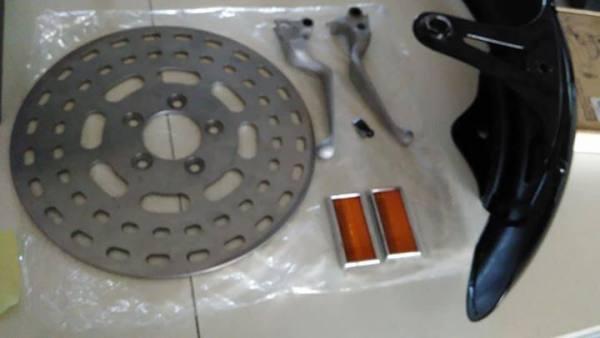 harley 1340 parafango springer pezzi vari e disco...