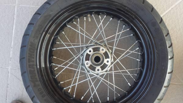 cerchio posteriore 17 per dina sportster