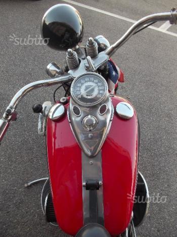 Harley-Davidson VLA Bobber Anni '40