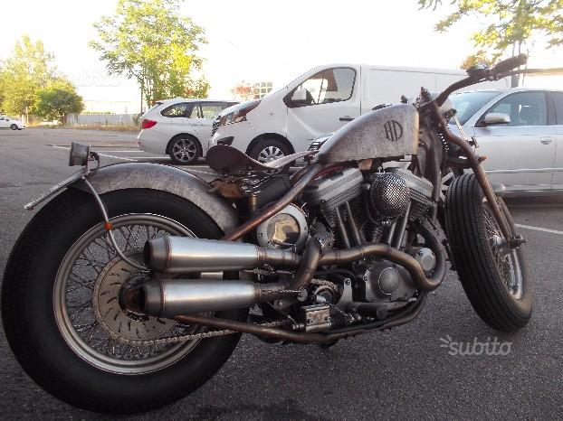 Harley-Davidson Rusty-Rat Look 1200CC