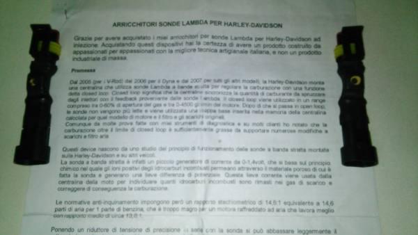 Arricchitori iniezione per harley regolabili