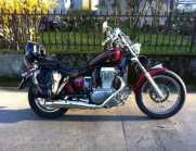 Moto Suzuki 650ls savage