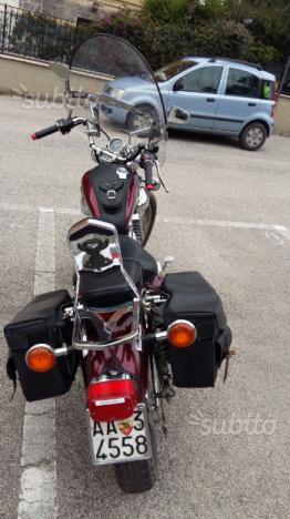 Custom Yamaha virago xv 535