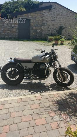 Café Racer - Moto Guzzi 650