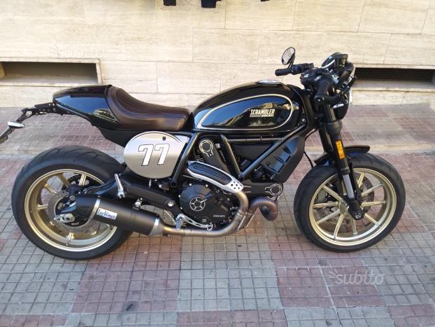 Ducati Scrambler Café Racer, NUOVA