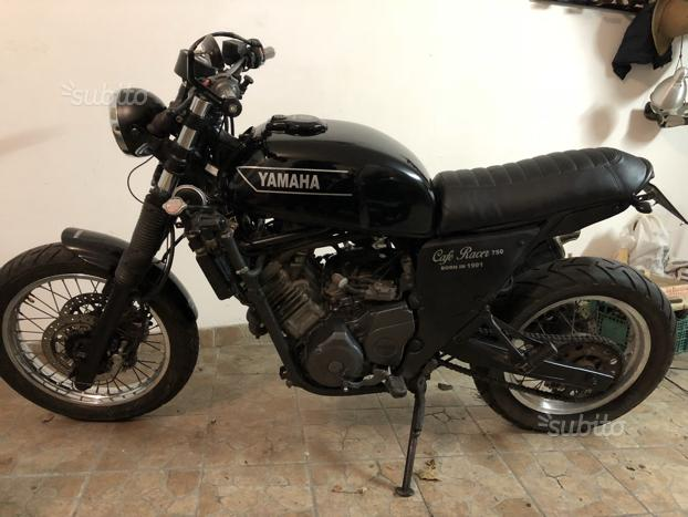 Yamaha scrambler / cafe racer