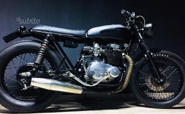 Kawasaki z400 cafe racer