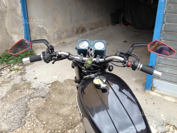 Suzuki trasformata scrambler