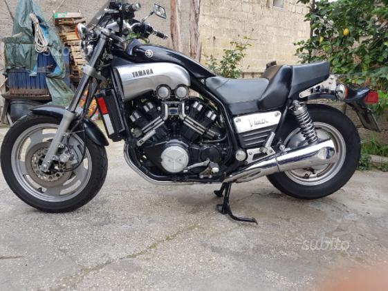 Yamaha vmax 1200 nera serie europa