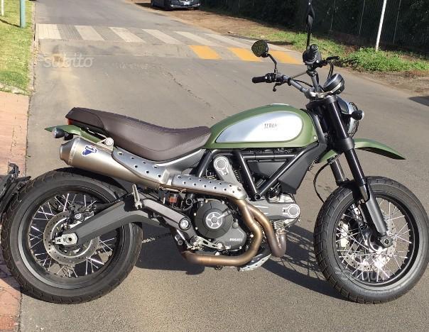 Ducati Scrambler MARZO 2016