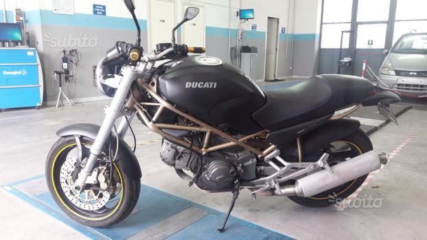 Ducati Monster 600 cil., km 47.000 orig