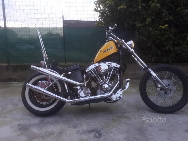 Harley Davidson Fxe Shovelhead 55630 | MondoCustom it