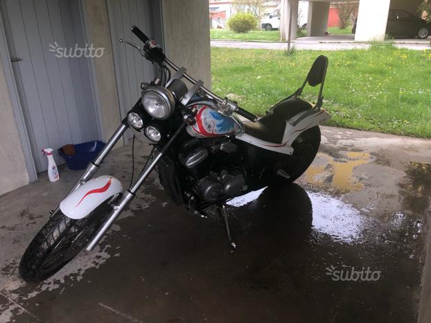 Moto Honda Shadow Usata 55943 Mondocustomit