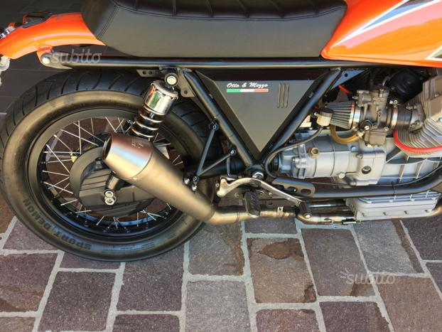 Moto Guzzi T5 p 1995 Bobber Cafè Racer