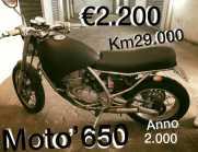Aprilia Moto' 6.5 - 2000 permuto entra