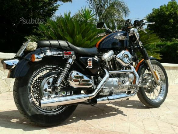 Harley d'epoca perfetta permuto