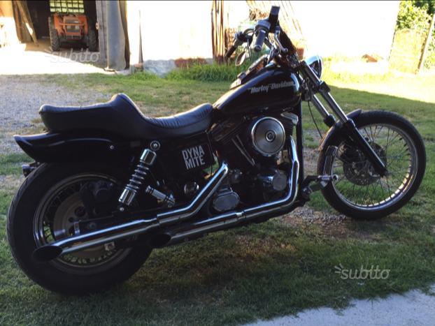 Harley davidson dyna wide glide 1340
