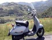 Aprilia Habana 125cc scooter custom
