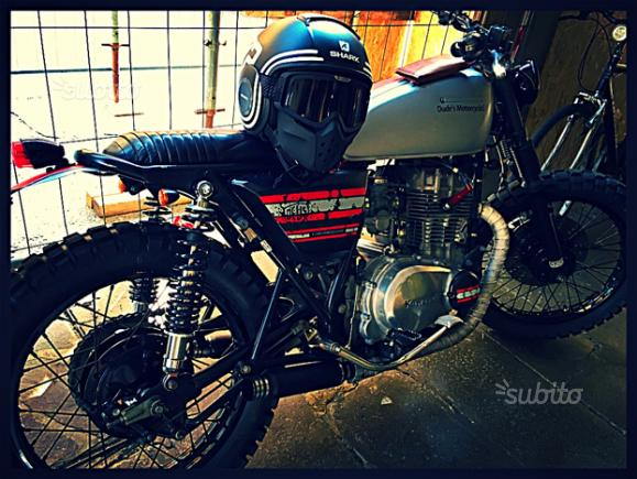 Kawasaki z400 Custom