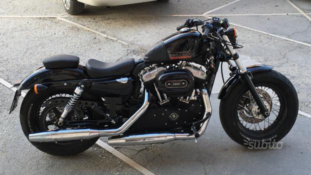 Harley davidson sportster 1200 fortyeight 2011