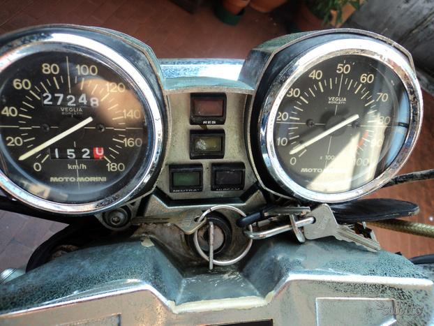 Moto Morini Scrambler - 1985