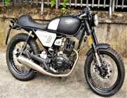 NEW Hanway 125 BLACK CAFE' Nero Opaca - 2019