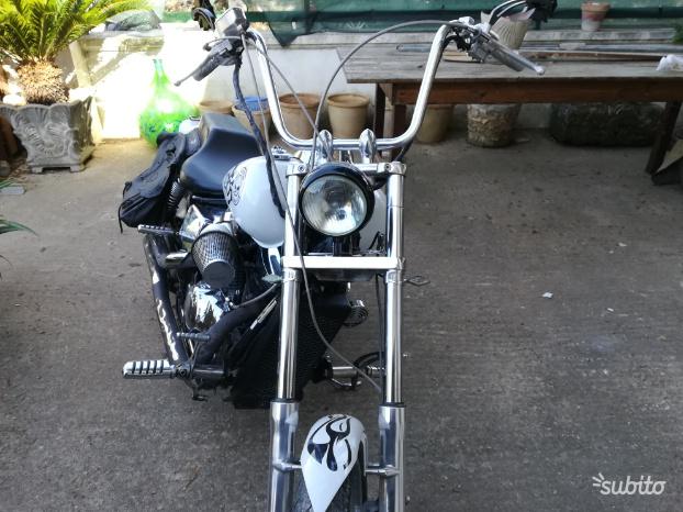 Honda Black widow 750cc