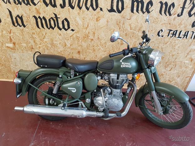 Royal Enfield Classic 500 Battle Green
