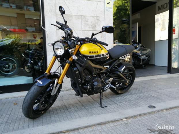 Yamaha XSR 900 60TH - 2018