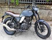 NEW Brixton GLANVILLE 250cc NERO OPACA