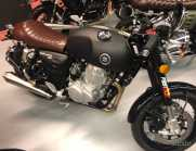 Somoto 400 cafe racer Matt black