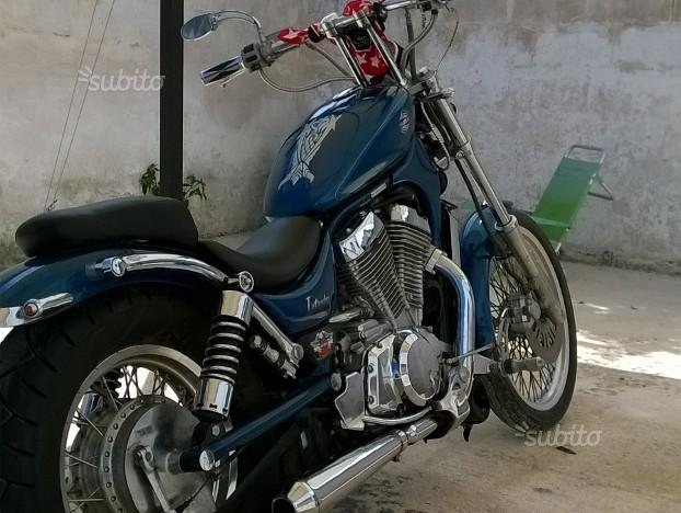 Custom Suzuki intruder 750
