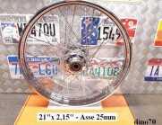 "995 € 199 Harley cerchio ant. cromo da 21"" x..."