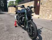 Scrambler su base Kawasaki Ninja 250R - 2012