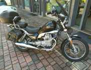 Moto Guzzi Nevada 750 con 3 valige