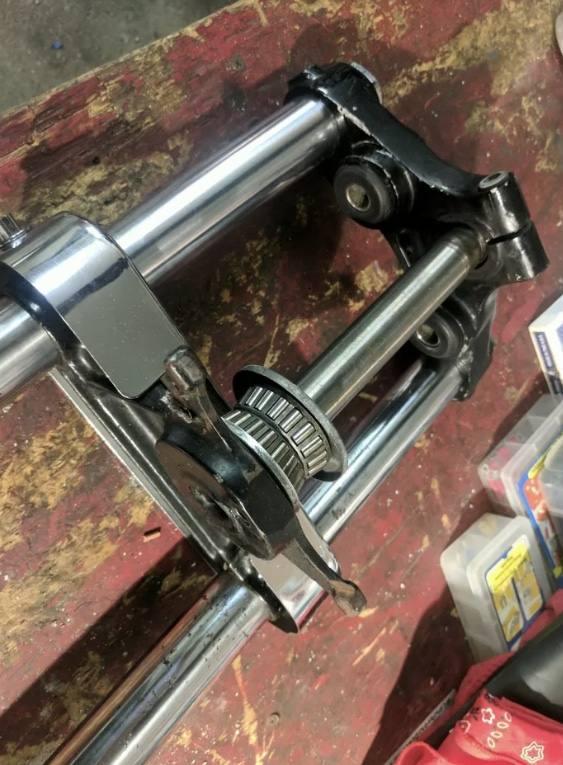 Forcelle 35 mm Harley Ironhead/FX Shovelhead