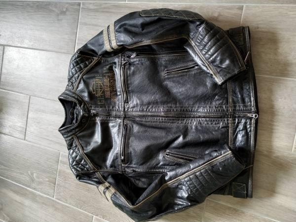 Giacca Harley Davidson vera pelle taglia M, €490
