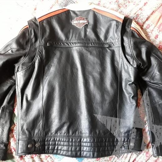 giubbotto in pelle vera originale Harley Davidson