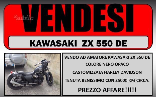 Kawasaki ZX 550 DE 1984