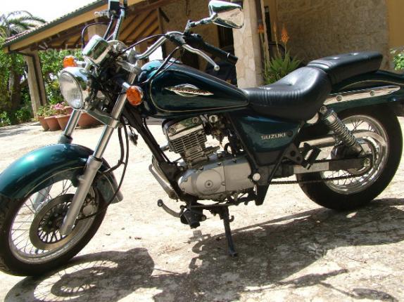 Suzuki GZ Marauder 125 - 1998