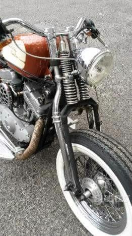 Harley-Davidson Sportster 883 springer custom
