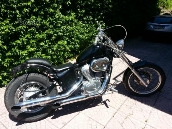 Chopper Honda 600 (moto storica)
