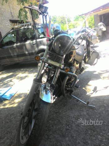 Moto guizzo V 65 Florida