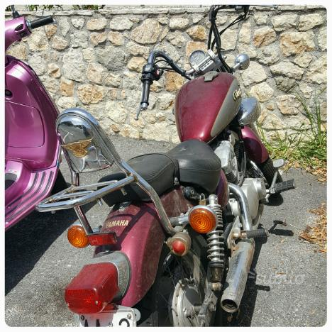 Splendida Yamaha Virago 250 cc quasi epoca